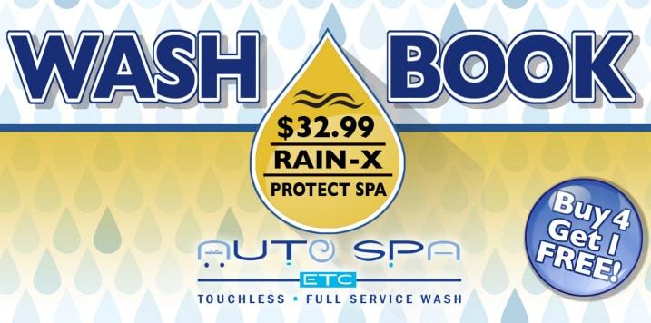 Wash Books | Ultimate Rain-X Package | Auto Spa Etc.