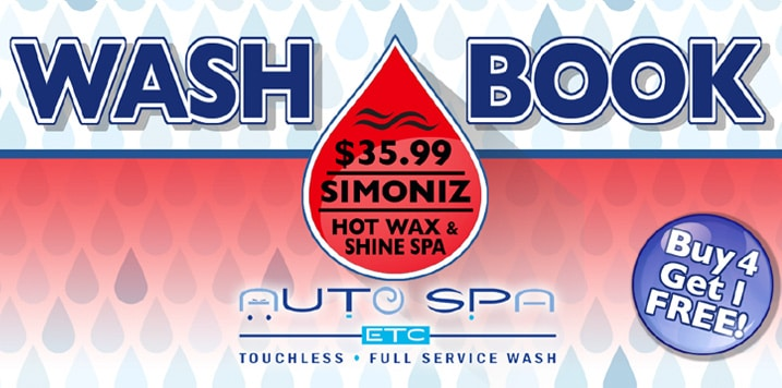 Wash Books | Gold Package | Auto Spa Etc.