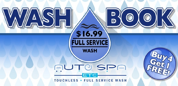Wash Books | Full Service Package | Auto Spa Etc.